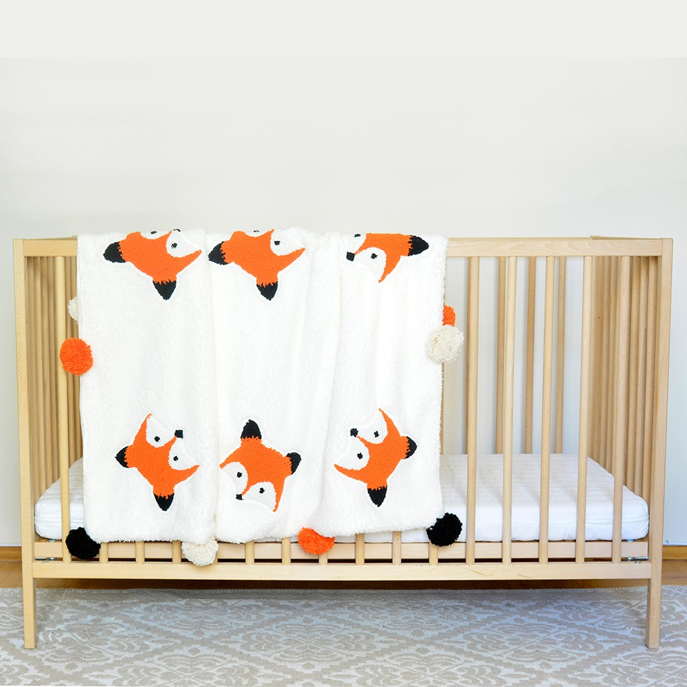 Simone Jr. Welly Punchy Fox Blanket Bebek Battaniyesi